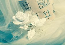 Wedding Accessories. Royalty Free Stock Photo