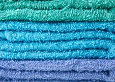 Free Colorful Towels Royalty Free Stock Images - 33143289