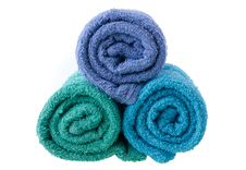 Free Colorful Towels Royalty Free Stock Images - 33143309