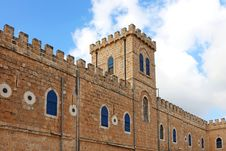 Free Monastery Wall Stock Image - 33144011