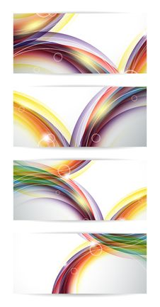 Free Colorful Vector Set Stock Photo - 33145980