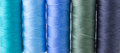 Free Sewing Threads Multicolored Royalty Free Stock Photos - 33151618