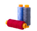 Free Sewing Threads Multicolored Stock Photo - 33151640