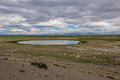 Free Lake Steppe Mountains Sky Royalty Free Stock Photography - 33157387