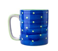 Free Blue Ceramic Cup Stock Photography - 33151602