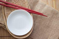 Free Two Chopsticks Royalty Free Stock Photos - 33152158