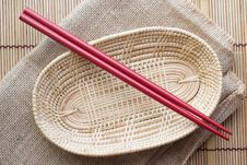 Free Two Chopsticks Stock Image - 33152531