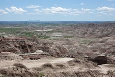 Free The Badlands Stock Photo - 33154300