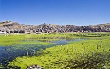 Free Puno City And Lake Titikaka, Perù Stock Photos - 33157933