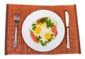 Free Fried Eggs Stock Photos - 33165343