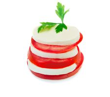 Free Mozzarella Burger Royalty Free Stock Photography - 33164897