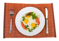 Free Fried Eggs Stock Photos - 33165343