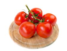 Free Cherry Tomatoes Royalty Free Stock Images - 33165459