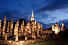 Free Wat Mahathai, Sukhothai Province Stock Images - 33166214