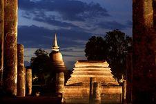 Free Wat Chana Songkram, Sukhothai, Thailand Stock Image - 33166281