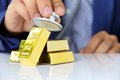 Free Concept Image Of Gold Bars Stock Photo - 33182110