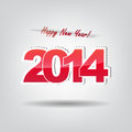 Free Happy New Year 2014! Stock Image - 33186731