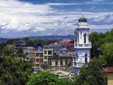 Free Mandalay City View. Royalty Free Stock Photo - 33182335