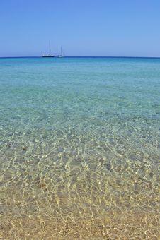 Free Sea Horizon With Boats Stock Image - 33190801