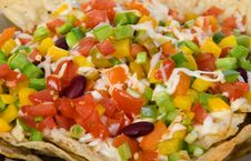 Free Mexican Nachos Royalty Free Stock Photo - 33194955