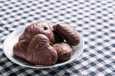 Free Chocolate Hearts Stock Images - 33197534