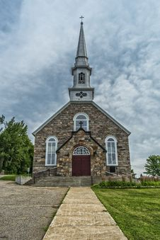 Free Country Church Stock Photography - 33199262