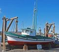 Free Trawler In Dry Dock Royalty Free Stock Image - 3323426