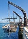 Free Hanging Fishing Boat Royalty Free Stock Images - 3323469