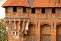 Free Castle Tower In Malbork Royalty Free Stock Photos - 3327758