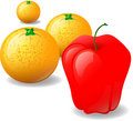 Free Apple And Oranges Stock Photography - 3329822