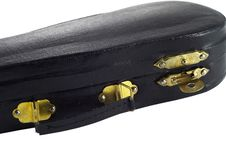 Fiddle-case Royalty Free Stock Image