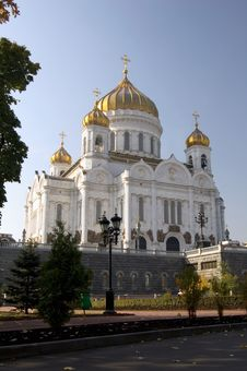 Free Cathedral Of Christ The Savior Stock Photos - 3320523