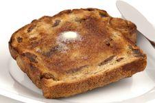 Free Raisin Toast Stock Photos - 3321363