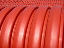 Free Red Pipes Royalty Free Stock Image - 3321546
