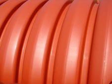 Free Orange Pipes 5 Royalty Free Stock Image - 3321566