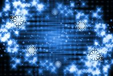 Free Abstract Christmas Background Stock Image - 3321601