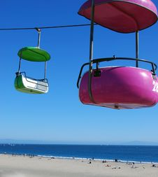 Free Bucket Ride At The Beach Stock Images - 3323384