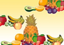 Free Mix Fruits Royalty Free Stock Photography - 3323437