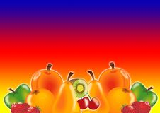 Free Juicy Fruits Royalty Free Stock Photos - 3323498