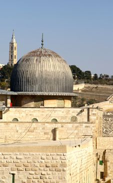 Free Jerusalem Old City - Al Aqsa M Stock Photos - 3323923