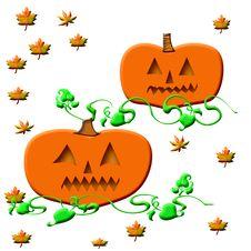 Free Halloween Jack-o -lantern Stock Images - 3324154