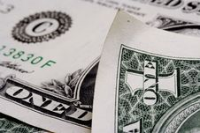 Free One Dollar Note Stock Images - 3324414