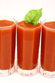 Free Tomato Juice Royalty Free Stock Photo - 3324655