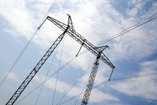 Free The Power Transmission Line Stock Image - 3324661