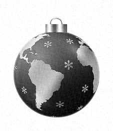 Free Cutline Christmas Ornament Stock Photo - 3325390