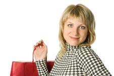 Free Shopping Woman Stock Image - 3325531