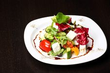 Greek Or Italian Salad Royalty Free Stock Photography