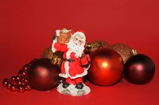 Christmas Ornaments And Decora Royalty Free Stock Images