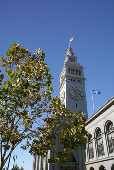 Free Ferry Building Stock Image - 3326551