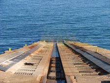 Free Lifeboat Emergency Slipway Stock Photos - 3326983